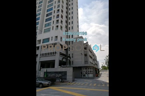 Condominium For Sale in Alam Puri, Jalan Ipoh Freehold Semi Furnished 3R/2B 468k