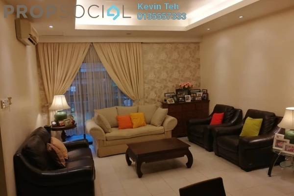 Condominium For Sale in Parkville Garden Townhouse, Sunway Damansara Freehold Semi Furnished 3R/4B 770k