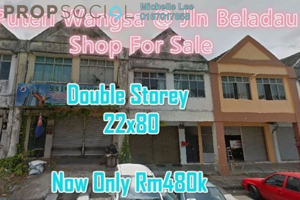 Shop For Sale in Taman Puteri Wangsa, Ulu Tiram Freehold Unfurnished 0R/0B 480k