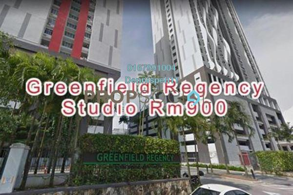 Condominium For Rent in Greenfield Regency, Skudai Freehold Fully Furnished 1R/1B 800translationmissing:en.pricing.unit