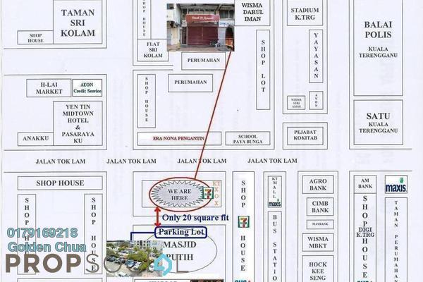 Office For Rent in Taman Desa Jaya, Kuala Terengganu Freehold semi_furnished 4R/2B 700translationmissing:en.pricing.unit