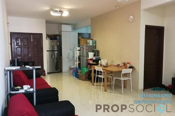 Condominium For Sale in Pelangi Utama, Bandar Utama Freehold Semi Furnished 3R/2B 520k
