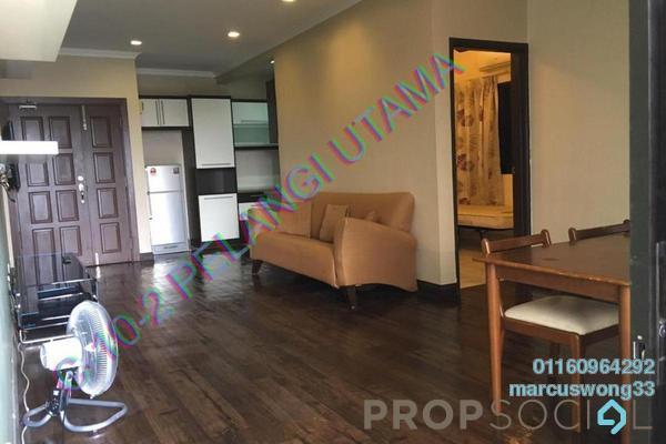 Condominium For Sale in Pelangi Utama, Bandar Utama Freehold Fully Furnished 3R/2B 520k