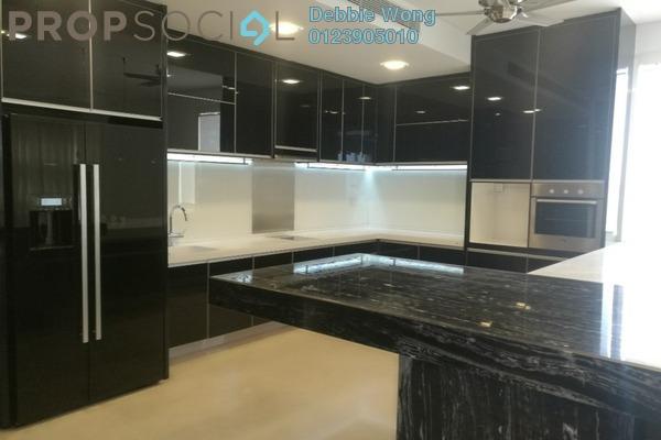 For Rent Condominium at One Menerung, Bangsar Freehold Semi Furnished 4R/6B 17k