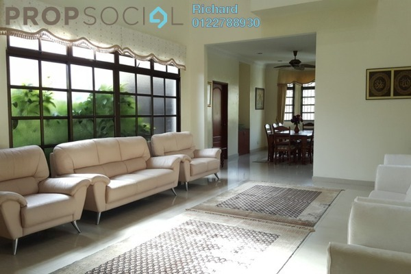 Bungalow For Rent in Section 7, Shah Alam Freehold Semi Furnished 6R/5B 5k