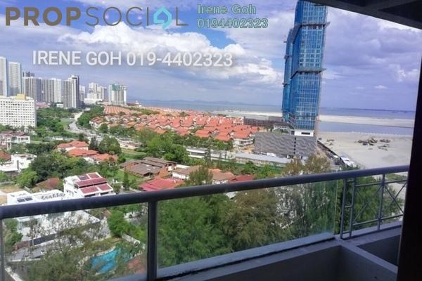 For Rent Condominium at Marina Bay, Tanjung Tokong Freehold Fully Furnished 3R/2B 1.7k