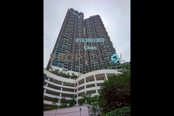 For Rent Condominium at Vogue Suites One @ KL Eco City, Mid Valley City Freehold Fully Furnished 2R/2B 4.3k