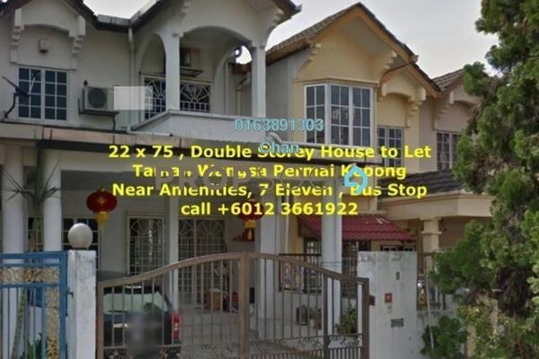 For Rent Terrace at Taman Wangsa Permai, Kepong Freehold Unfurnished 4R/3B 1.6k