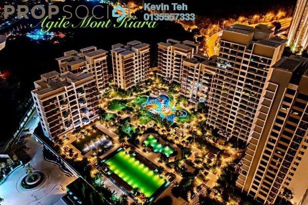 Condominium For Rent in Agile Mont Kiara, Dutamas Freehold Semi Furnished 3R/3B 6.5k