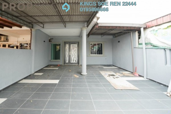 Terrace For Sale in Taman Sentosa, Johor Bahru Freehold Semi Furnished 3R/2B 399k