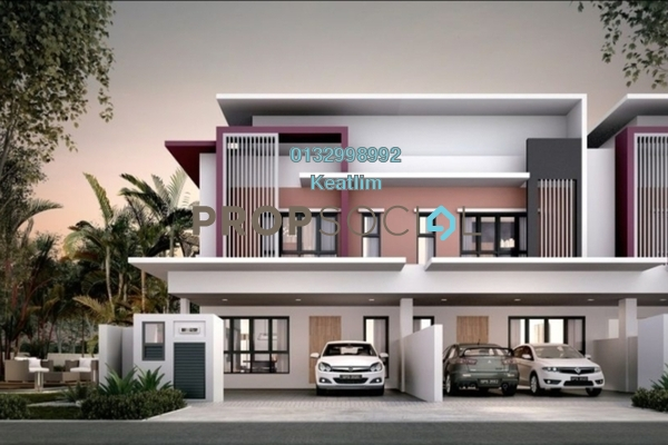 For Rent Terrace at Setia Permai 2, Setia Alam Freehold Unfurnished 4R/3B 1.3k