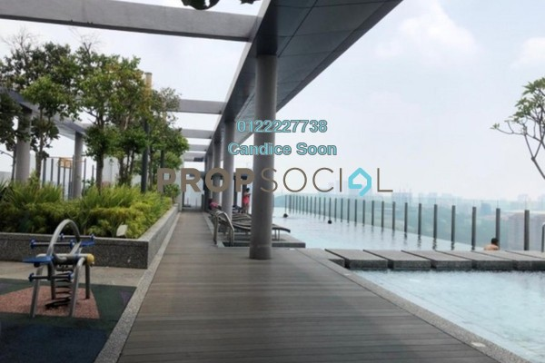 Condominium For Sale in Flexis @ One South, Seri Kembangan Freehold Semi Furnished 1R/1B 259k