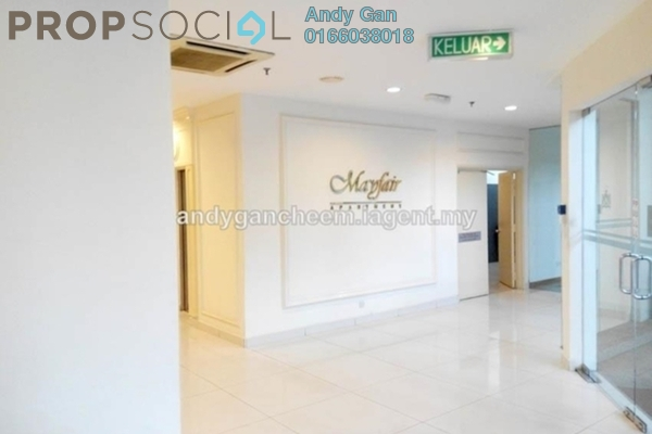 Serviced Residence For Rent in Mayfair, Sri Hartamas Freehold Fully Furnished 0R/1B 1.35k