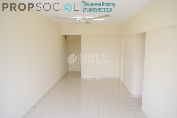 Condominium For Rent in Petaling Indah, Sungai Besi Freehold Unfurnished 3R/2B 1.1k