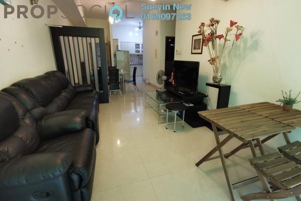 Condominium For Sale in e-Tiara, Subang Jaya Freehold Semi Furnished 4R/2B 600k
