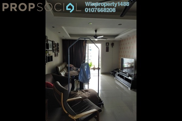 For Sale Condominium at Zen Residence, Puchong Freehold Semi Furnished 3R/2B 510k