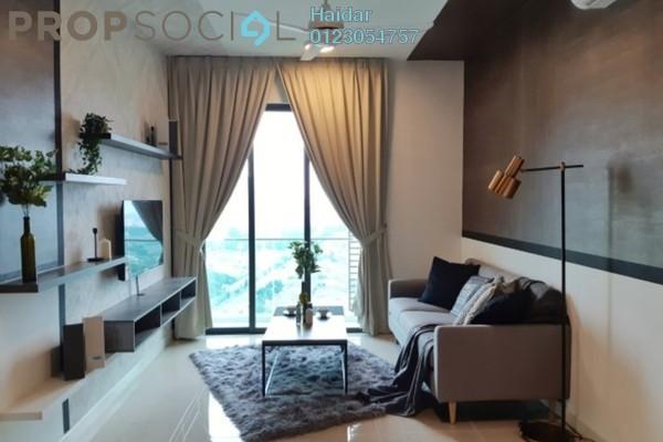 Condominium For Rent in Danau Kota Suite Apartments, Setapak Freehold Fully Furnished 3R/2B 2.5k