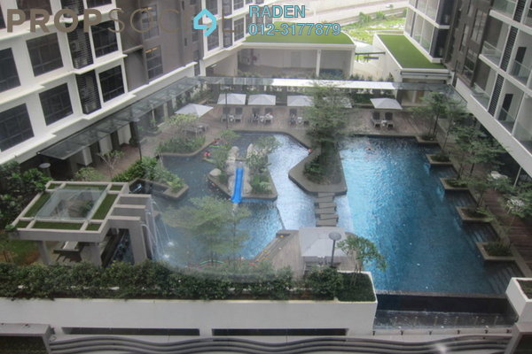 SoHo/Studio For Rent in Summer Suites, KLCC Leasehold Semi Furnished 1R/1B 2.9k
