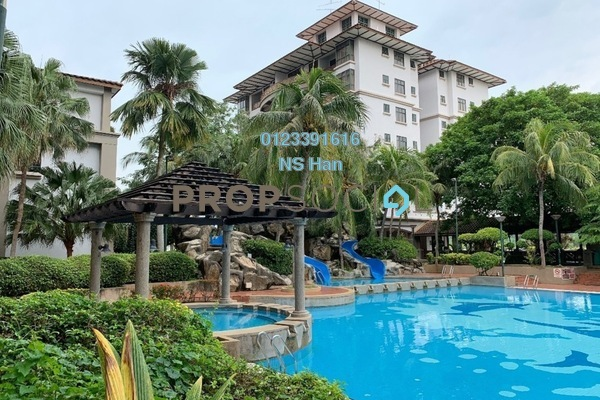 Condominium For Sale in Mahkota Hotel Apartment, Bandar Melaka Leasehold Fully Furnished 1R/1B 198k