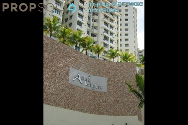 Condominium For Rent in Asia Heights, Farlim Freehold Semi Furnished 3R/2B 850translationmissing:en.pricing.unit