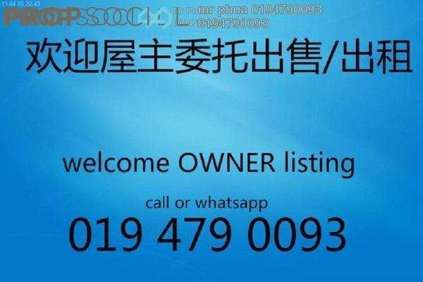Condominium For Rent in Palma Laguna, Seberang Jaya Freehold Unfurnished 3R/2B 1.1k