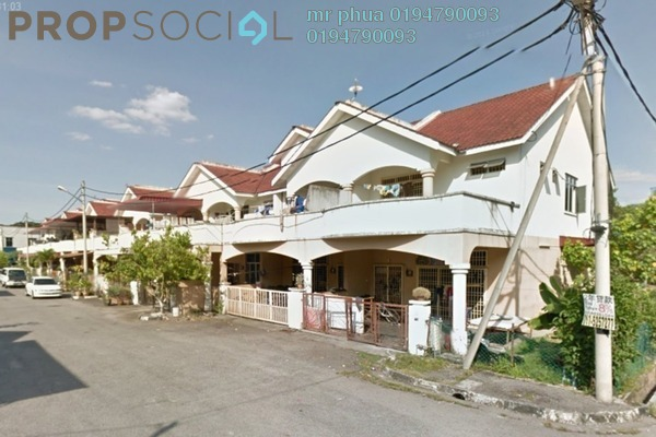 Terrace For Sale in Taman Seri Juru, Juru Freehold Semi Furnished 4R/3B 450k