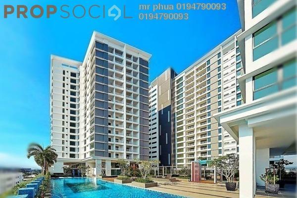 Condominium For Rent in Mahkota Impian, Bukit Minyak Freehold Semi Furnished 3R/2B 1.25k