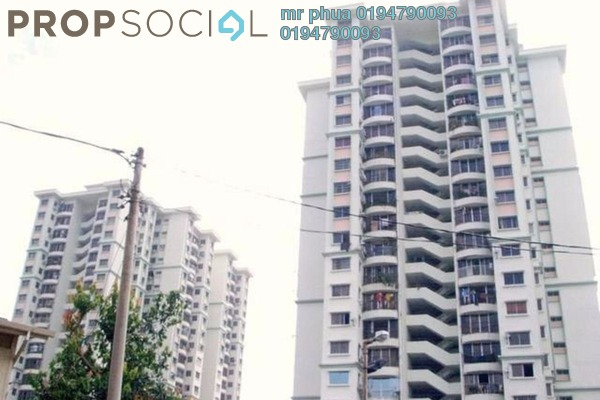 Apartment For Sale in Taman Kristal, Tanjung Tokong Freehold Unfurnished 3R/2B 450k