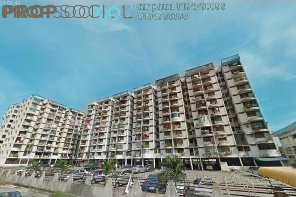 Apartment For Sale in Taman Mewah, Butterworth Freehold Unfurnished 3R/2B 115k