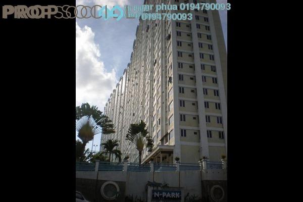 Condominium For Sale in N-Park, Batu Uban Freehold Semi Furnished 3R/2B 320k