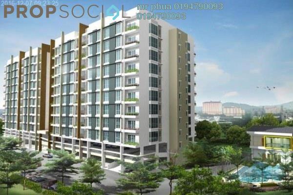 Condominium For Rent in Kelisa Residence, Seberang Jaya Freehold Fully Furnished 3R/2B 1.6k