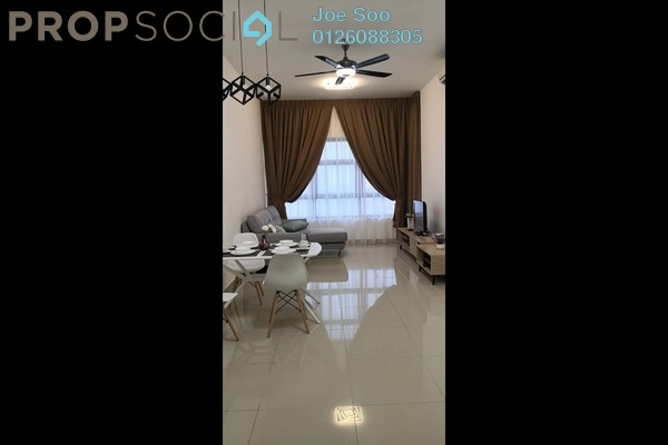 Condominium For Rent in Lakeville Residence, Jalan Ipoh Freehold Fully Furnished 3R/2B 2k