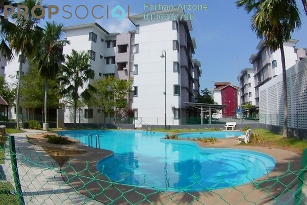 For Rent Apartment at Camellia Court, Nilai Impian Freehold Unfurnished 3R/2B 1k
