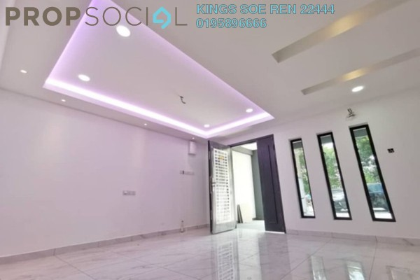 Terrace For Sale in Taman Sentosa, Johor Bahru Freehold Semi Furnished 4R/3B 539k