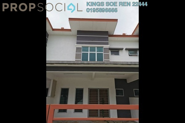 Terrace For Sale in Jalan Kluang, Ayer Hitam Freehold Unfurnished 4R/3B 480k