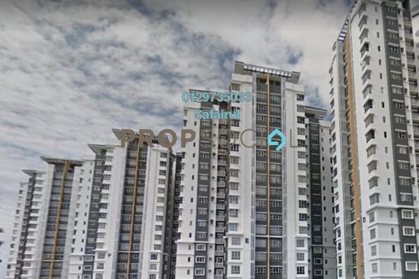 Apartment For Rent in PPA1M Selasih, Putrajaya Freehold Semi Furnished 3R/2B 1.2k