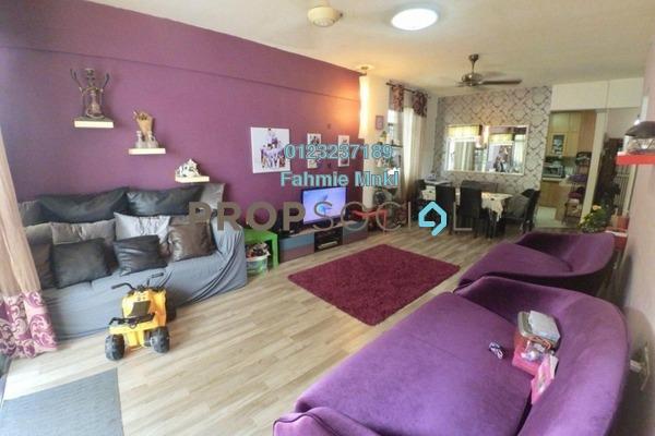 Condominium For Sale in Pelangi Condominium, Sentul Freehold Semi Furnished 3R/2B 400k