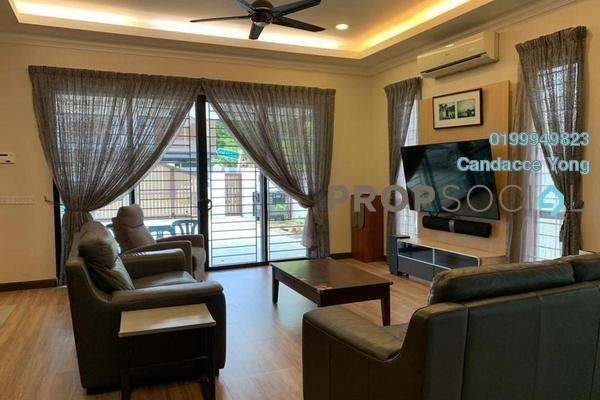Terrace For Rent in Setia Damai, Setia Alam Freehold fully_furnished 3R/4B 3.2k
