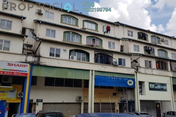 Duplex For Sale in Taman Bukit Permai, Cheras Leasehold Unfurnished 2R/1B 185k