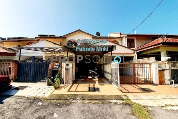 Townhouse For Sale in Templer Suasana, Templer's Park Freehold Semi Furnished 3R/2B 320k