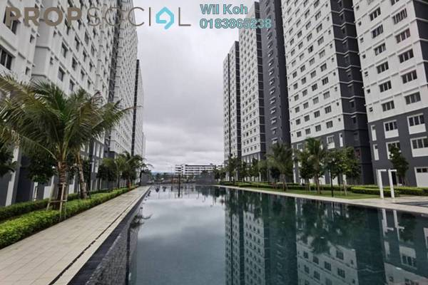 Condominium For Rent in Harmoni Apartment Eco Majestic, Beranang Freehold fully_furnished 3R/2B 1k