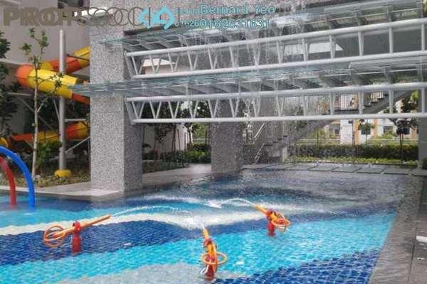 For Sale Condominium at Vertiq, Gelugor Freehold Semi Furnished 3R/3B 1.45m