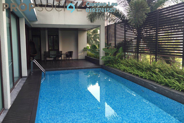 For Rent Villa at Villa Mont Kiara, Mont Kiara Freehold Semi Furnished 5R/5B 15k