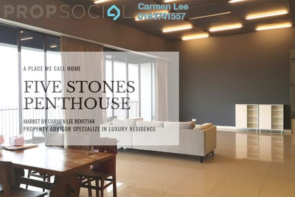 Condominium For Sale in Five Stones, Petaling Jaya Freehold Semi Furnished 5R/5B 3.58m