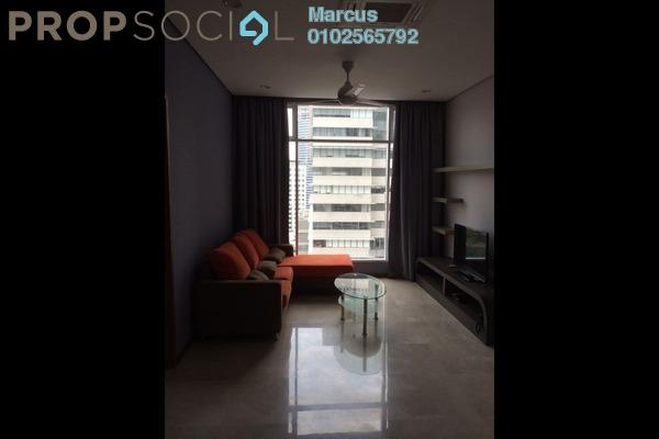 SoHo/Studio For Rent in Soho Suites, KLCC Freehold Fully Furnished 2R/1B 3.5k