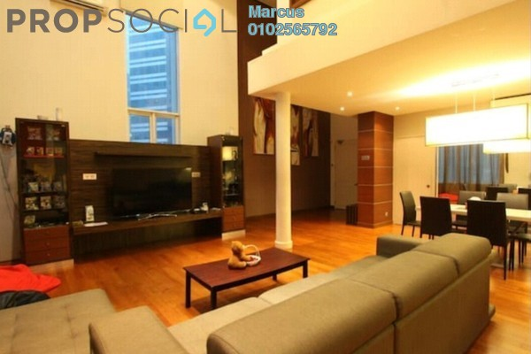 Condominium For Rent in Seri Bukit Ceylon, Bukit Ceylon Freehold Fully Furnished 2R/1B 6k