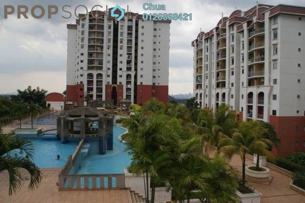 For Rent Condominium at Ketumbar Hill, Cheras Freehold Fully Furnished 3R/2B 1.5k