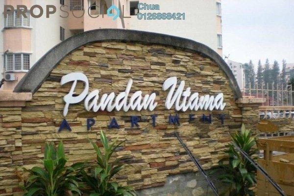 Apartment For Rent in Pandan Utama, Pandan Indah Leasehold Semi Furnished 3R/2B 1.35k