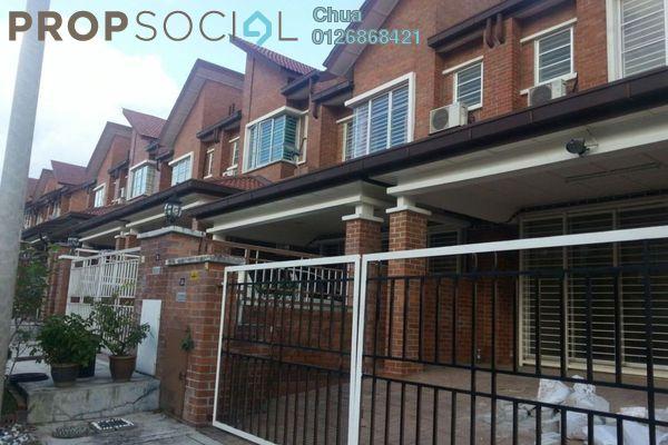 Terrace For Rent in Palm Walk, Bandar Sungai Long Freehold Semi Furnished 4R/3B 1.6k