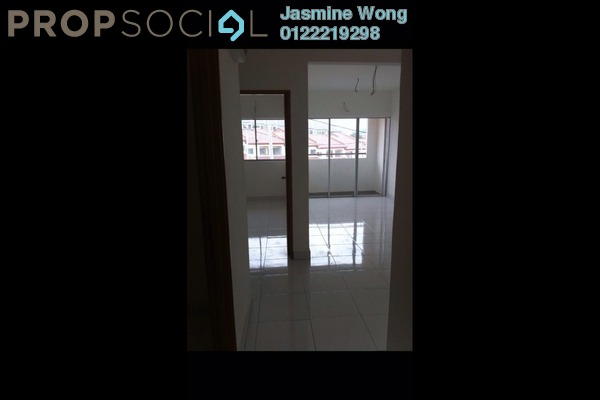 Townhouse For Sale in Taman Len Sen, Cheras  Semi Furnished 3R/2B 389k